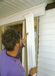 Simply elegant home designs blog vinyl siding done not so ugly for Installing exterior window trim over siding