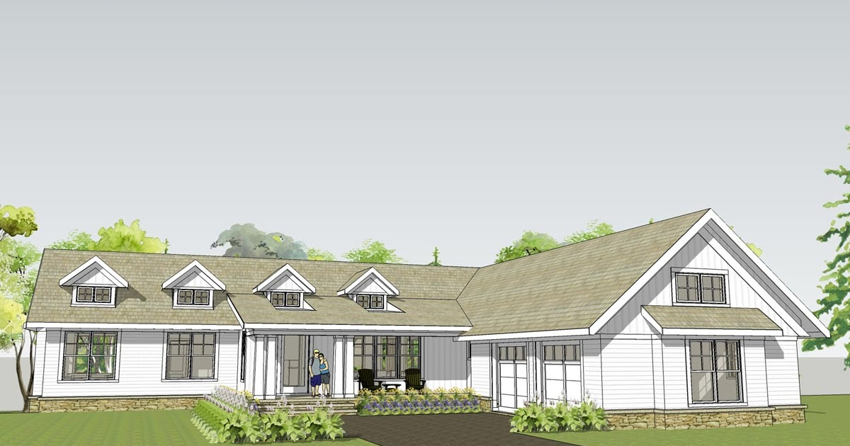 Simply elegant home designs blog new unique ranch plan for Ranch house blog