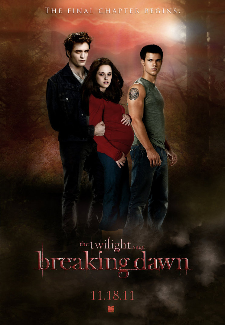 run away with fate breaking dawn to be split into 2 films