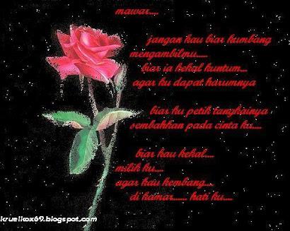 Puisi Buat Mawar