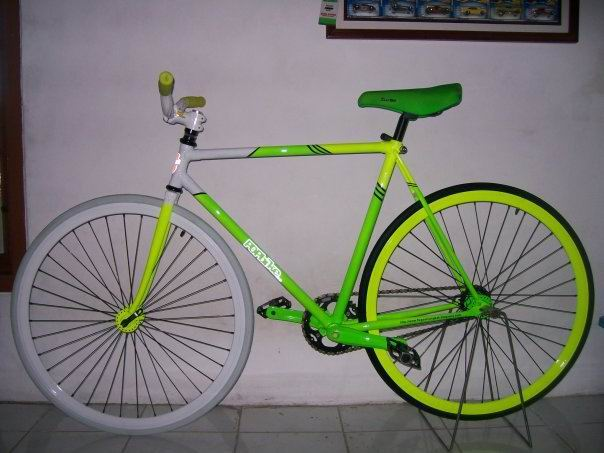 New Car Modification Sepeda Fixie Pesanan Bintaro