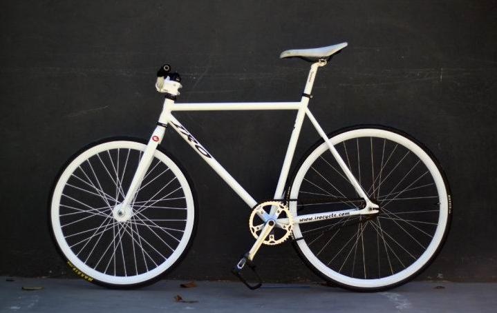 New Car Modification SEPEDA FIXIE PESANAN FULL WHITE