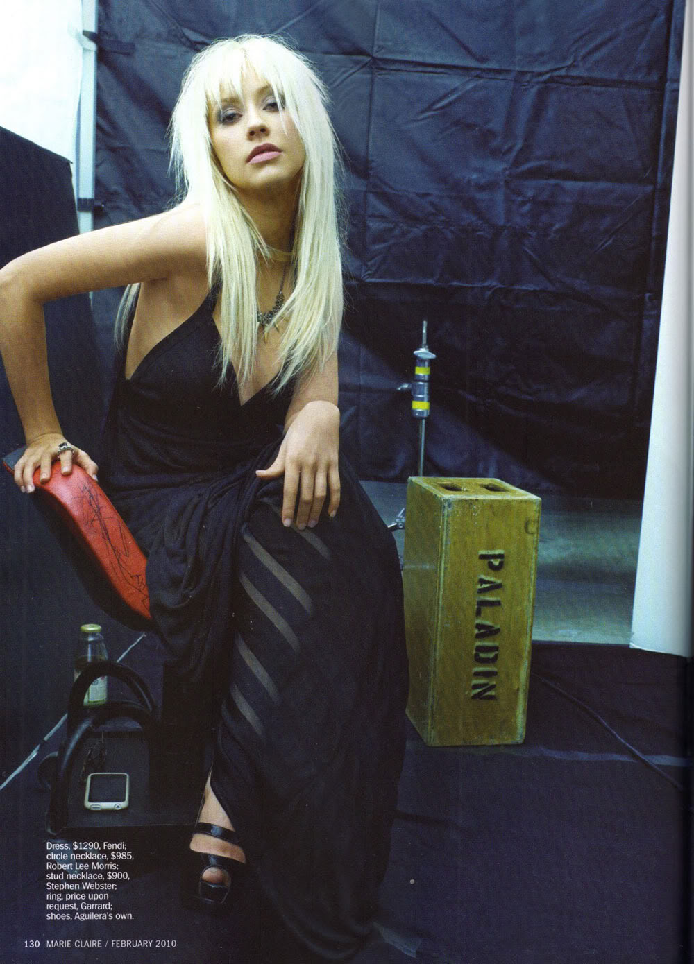 Joe Anth. Tan: Christina Aguilera in Marie Claire February ...