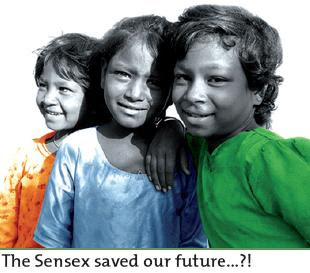 The Sensex saved our future...?!