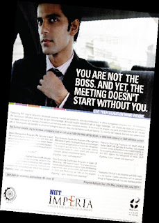 NIIT Imperia : You are not the boss…..without you