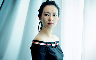 zhang ziyi 1680x1050 desktop wallpaper