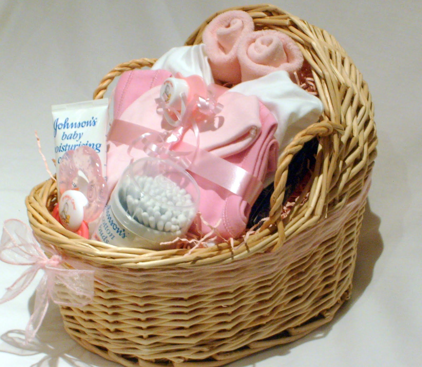 Baby Gift Baskets Images : New baby gift baskets