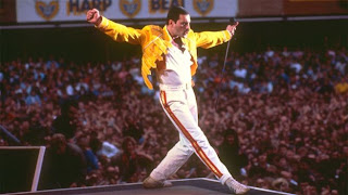 Freddie Mercury Singer Queen Yellow Jacket