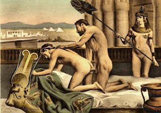 Hadrian and Antinous Édouard-Henri Avril painting homosexuality