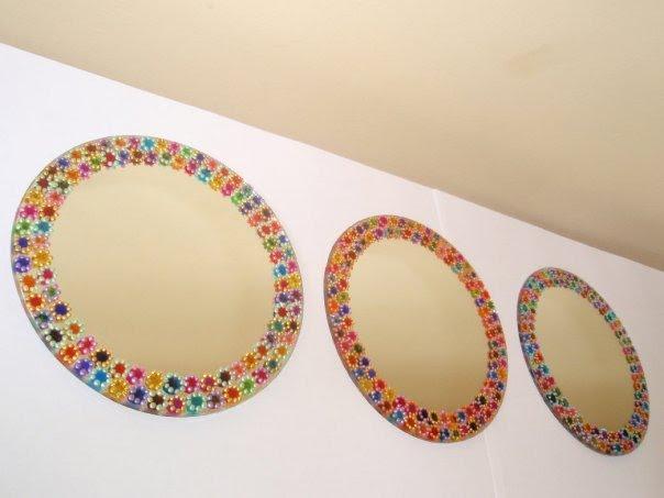 espejos pintados