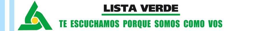 Lista Verde La Plata -