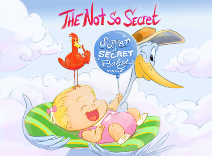 THE SUPER SECRET BABY PAGE
