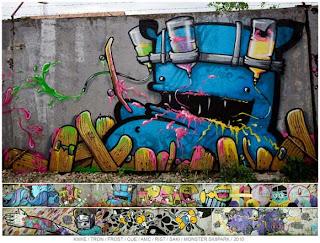 El Arte Callejero – Graffiti – ataca de nuevo