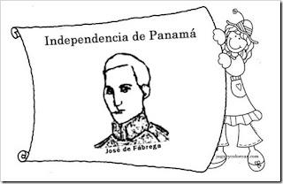 Educa Con Igualdad: Dibujos para colorear símbolos patrios de Panamá
