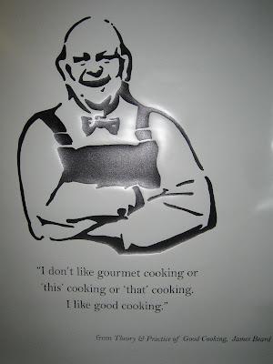 James Beard poster