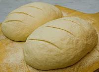 Greek Village Bread Ready for Oven