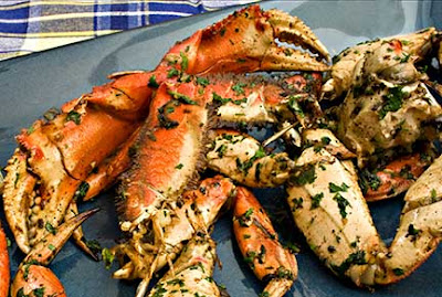 Garlic Roasted Crab