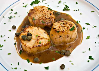 Scallops Piccata