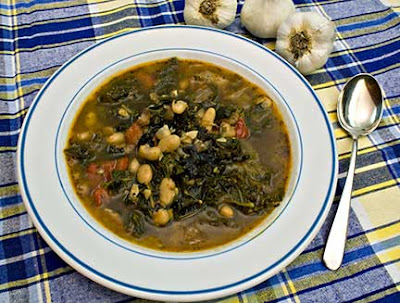 Chicken, Beans, and Greens Soup