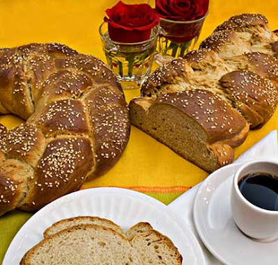 Tsoureki (Greek Easter Bread)