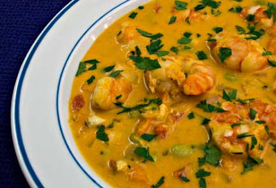 Seafood Stew with Vegetables and Rouille