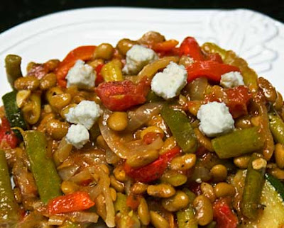 Tepary Bean and Vegetable Stew