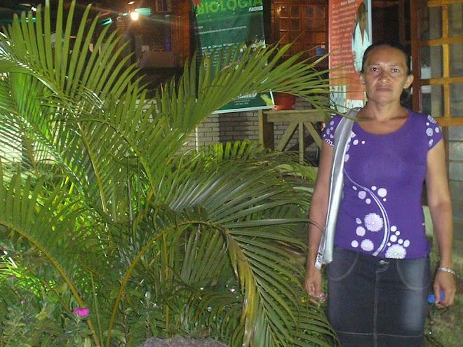 Minha mãe na expoac 2008