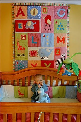 Muxugorri blog habitaciones infantiles decorar con patchwork - Decorar habitaciones infantiles ...