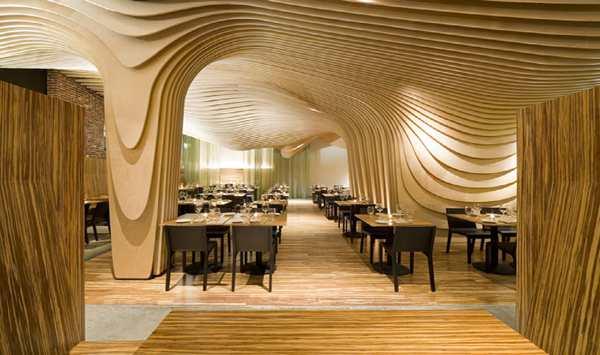 Cool Stuff Wooden Waves Restaurant
