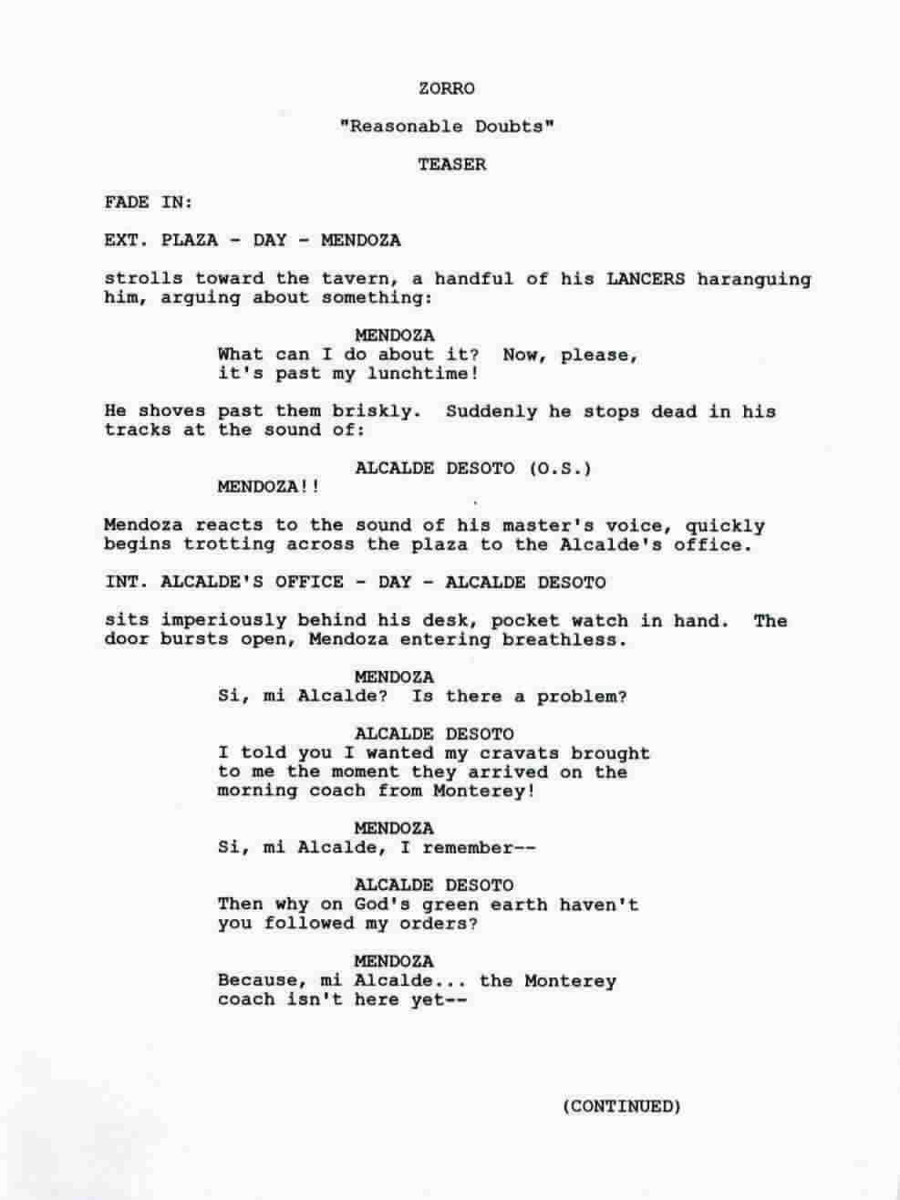 how to write a disney movie script
