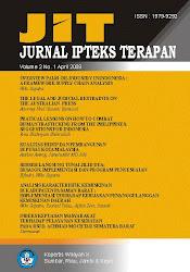 JURNAL IPTEKS TERAPAN