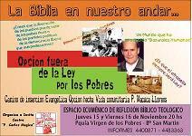 ESPACIO ECUMÉNICO DE REFLEXIÓN BÍBLICO-TEOLÓGICA
