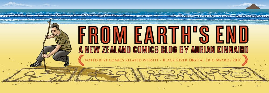 From Earth&#39;s End - a New Zealand Comics Blog