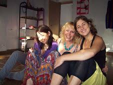 Adima, Germana y Vero