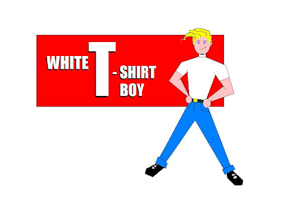 White T-Shirt Boy