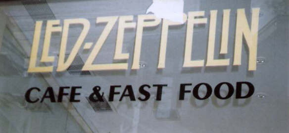 Led Zeppelin  Cafe