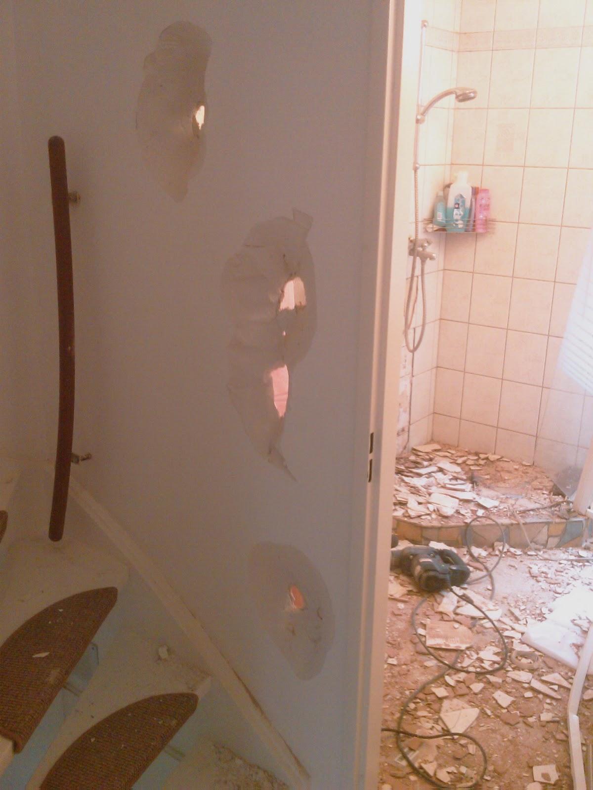 Zelf een badkamer maken september 2010 for Badkamer zelf maken