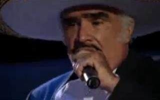 Vicente Fernandez - El Ultimo Beso - Video y Letra - Lyrics