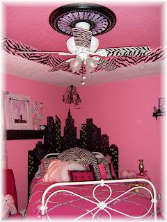 Pink Zebra Room