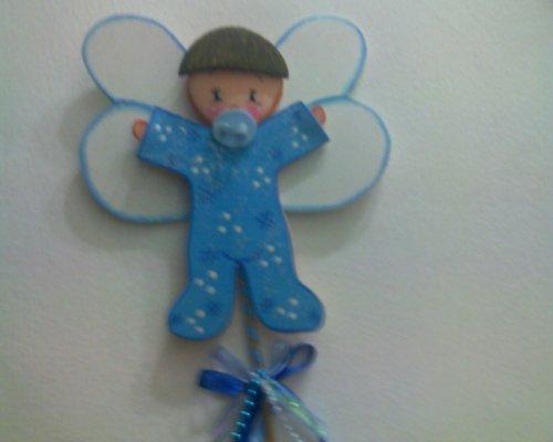 Muñecos de bebé en foami para baby shower - Imagui