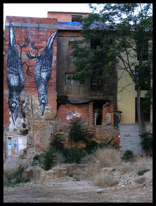 Grafiti de Roa (Gante)
