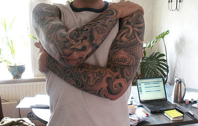 Full hand tattoo