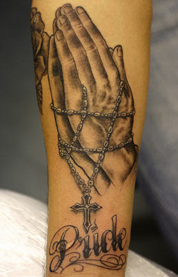Chain tattoo