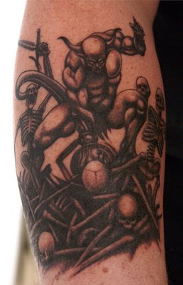 Kreator tattoo