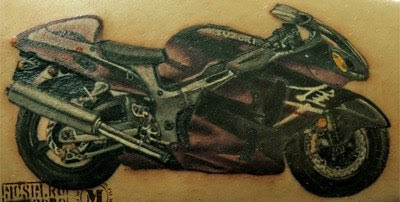 motorcycle tattoo