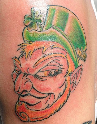 St Patrick - Irish tattoo
