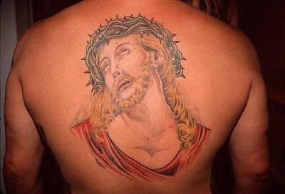 Christ tattoo
