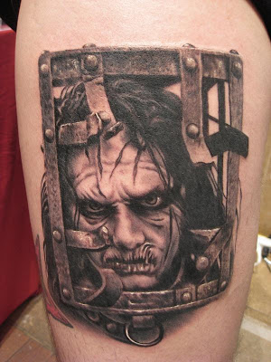 Tags Evil tattoo Horror tattoo