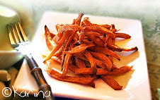 Baked Sweet Potato Shoestrings