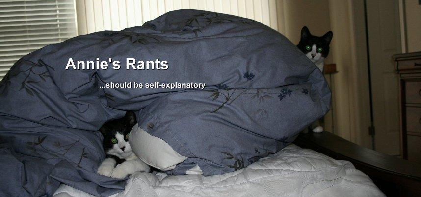 Annie's Rants